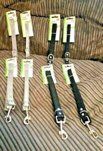 "Silver Grey  - Black ""Sparkle ""  Glitter collar & lead set..small & medium dog"