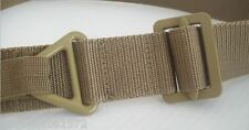 NEW - Coyote Tan Nylon Rigger BDU 45mm wide Trouser Utility Belt
