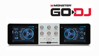 Monster Go-DJ GoDJ Portable DJ System Touchscreen Studio Pocket  DJ Mixer New