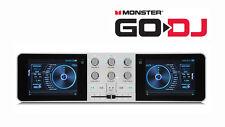 Monster Go-DJ GoDJ Portable DJ System Touchscreen Studio Pocket  DJ Mixer New