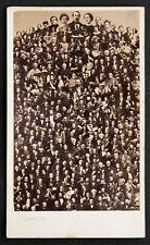 PHOTO ANCIENNE PHOTOMONTAGE MOSAIQUE DISDERI COUR IMPERIALE NAPOLEON III CdV