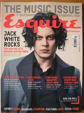 Esquire January 2013 The Music Issue Jack White Rolling Stones Pixie Geldof