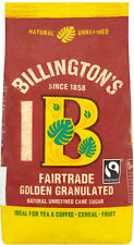 Billingtons Golden Granulated Sugar Fairtrade 3 x 500g
