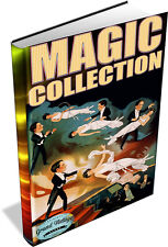MAGIC & ILLUSIONS ~ Vintage Books on DVD ~ Conjuring, Card Tricks, Secret Magic