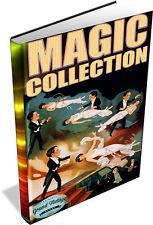 MAGIC & ILLUSIONS ~ Vintage Books on DVD ~ Conjuring, Card Tricks, Secret Magic