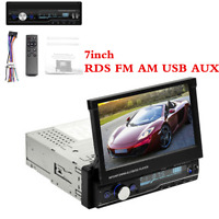 """7"""" 1Din GPS Stereo Bluetooth Touch Screen HD Car Radio MP5 Player MP3/FM/USB/RDS"""