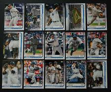 2019 Topps Series 1 New York Yankees Team Set 15 Baseball Cards