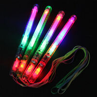 1PC  LED Glow Flashing Light Up Stick Concert Party Favors Toy