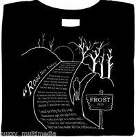 Road Not Taken Poem - Robert Frost, Shirt, literature, poetry, Sm - Plus Sizes
