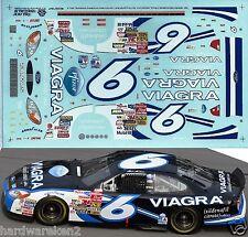 NASCAR DECAL # 6 VIAGRA 2003 FORD TAURUS  MARK MARTIN SLIXX
