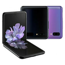 Samsung Galaxy Z Flip - 256GB (8GB) - Mirror Black & Mirror Purple - Smartphone