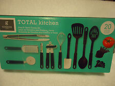 New listing 20 Piece Kitchen Set By Gibson.Spatulas, Tongs, Peeler, Etc.New In Box.Nice