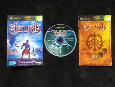 JEU Microsoft XBOX : AZURIK Rise Of Perathia (V.F. COMPLET envoi suivi)