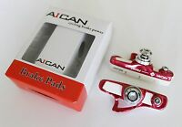 Aican Road Bike Brake Shoes shoe pads for Shimano 105 Ultegra Dura Ace Red white