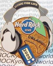 Hard Rock Live ORLANDO 2009 Orange w/Headphones iPod PIN