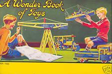 +++ A WONDER BOOK OF TOYS +++NEU/NEW/NEUF !!