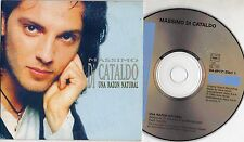 MASSIMO DI CATALDO CD single in SPAGNOLO Eros Ramazzotti UNA RAZON NATURAL