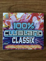100% Clubland Classix (CD) Brand New Sealed
