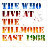 THE WHO - LIVE AT THE FILLMORE EAST 1968 - 3LP VINYL NEW SEALED RSD 2018