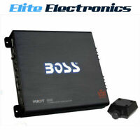 BOSS AUDIO R6002 RIOT SERIES 2 CHANNEL CH 1200W CLASS AB CAR MPLIFIER AMP