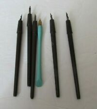 Vintage Lot Fountain Pens Calligraphy