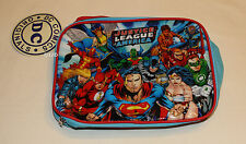 DC Comics Justice League Of America Printed Insulated Lunch Box Cooler Bag New