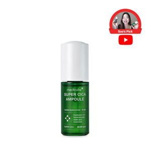 MEDICUBE Super Cica Ampoule Sensitive Skin Soothing Asiatic Acid Madecassoside