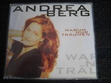 Maxi-CD  ANDREA BERG  Warum nur träumen  MCD in Topzustand