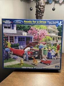 WHITE MOUNTAIN PUZZLES READY FOR A DRIVE - NEW