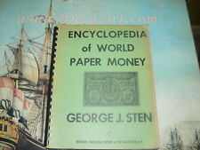 Sten, George J - Encyclopedia of World Paper 1965. First Edition.