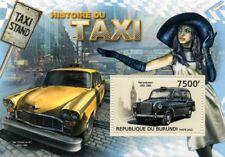 Austin FX4 London Hackney Taxi Checker Taxi Nueva York & hoja de sellos de coche