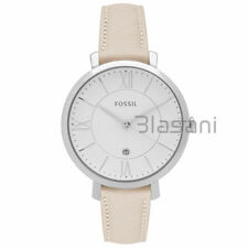 Fossil Original ES3793 Women's Jacqueline White Leather Watch 36mm
