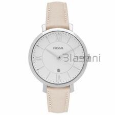 Fossil Original ES3793 Women's Jacqueline Beige Leather Watch 36mm