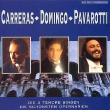 Carreras Domingo Pavarotti Die schönsten Opernarien (1991, Columbia) [CD]