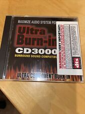 Cd3000 Ultra Burn-In Maximize Audio System Performance Dts