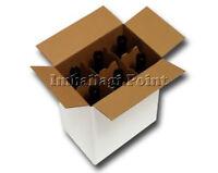 1 pezzo Karton Versand 6 Flaschen - Wein - Liköre mit Separator