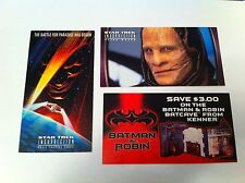 Star Trek Insurrection Alien Races 1 65 Voucher Son'a 1998 Trading Cards