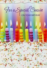 For A Special Cousin On Your Birthday - Birthday Greeting Card - 01451