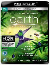 Earth  One Amazing Day UHD [Bluray] [2018] [DVD]