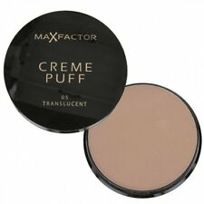 Max Factor Foundation Creme Puff Pressed Face Powder 05 Translucent Makeup