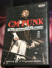 ROH Ring of Honor CM PUNK The Second City Saint (DVD, 2012, 2-Disc Set) Rare