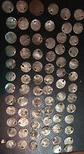 Lot Monnaies Turquie Ottoman XIXEME En Argent Trouées Qui Formaient Un Collier
