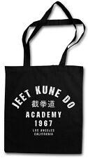 JEET KUNE DO ACADEMY TASCHE STOFFTASCHE Bruce Kampfkunst Martial Arts Lee Karate
