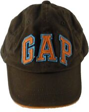 Baby Gap Block Letter Cap Hat Size XS S Extra Small Stretch Brown