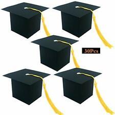 30Pcs Graduation Cap Candy Box Graduation Supplies 2021 Decorations Graduation
