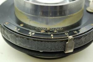 Schneider Xenar 240mm f4.5 lens in Compound Shutter, excellent condition.