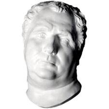 """Vitellius Roman Emperor Sculpture Mask 12"""" Museum Replica Reproduction"""