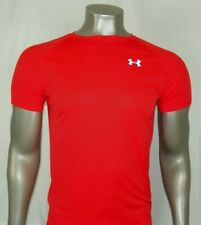 Under Armour HeatGear Short sleeve Fitted T-Shirt Color: Orange, New!!!!