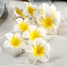 10Pcs Foam Frangipani Plumeria Artificial Flowers Wedding Home Photography Decor