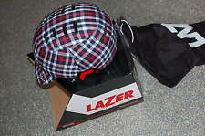 Lazer CityZen City Helm Gr. L  schwarz-kariert 2012